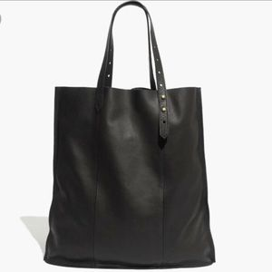 Madewell McCarren Black Leather Tote EXCELLENT!